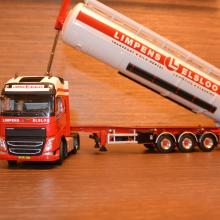 Volvo met bulkoplegger