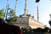 voor de moskee van Edirne